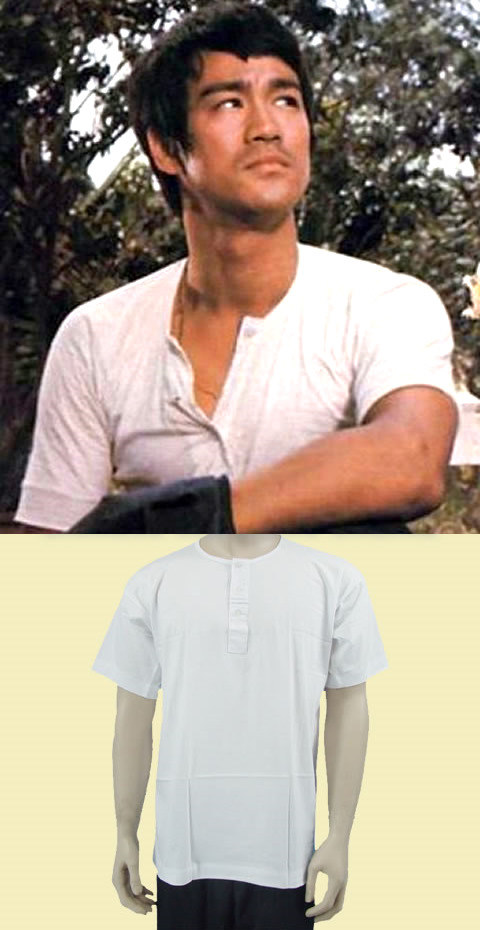 Short-sleeve 3-button Kungfu Undershirt (RM)