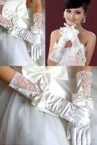 Women Gloves (White)