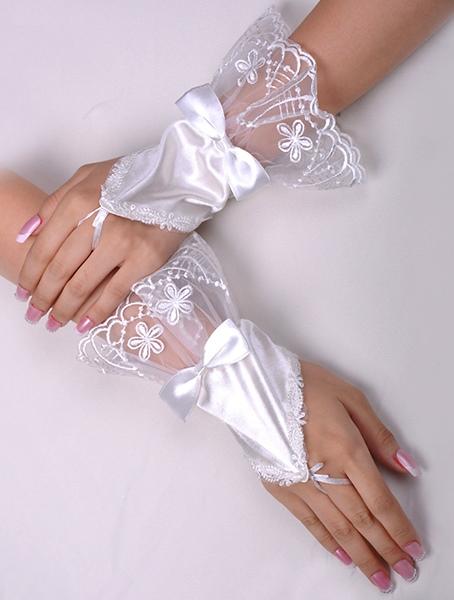 Women Gloves (White)
