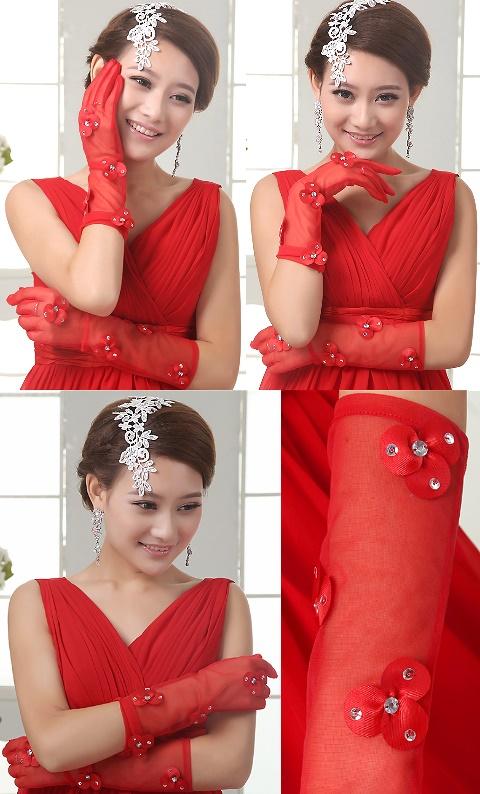 Women Gloves (Red)