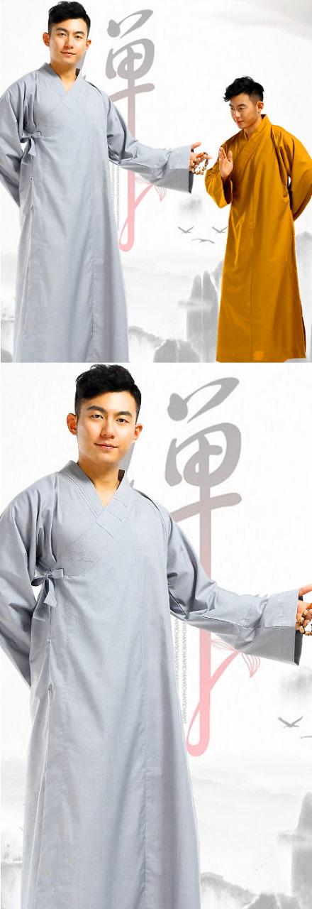 Shaolin Buddhist Long Robe - Changgua (CM)