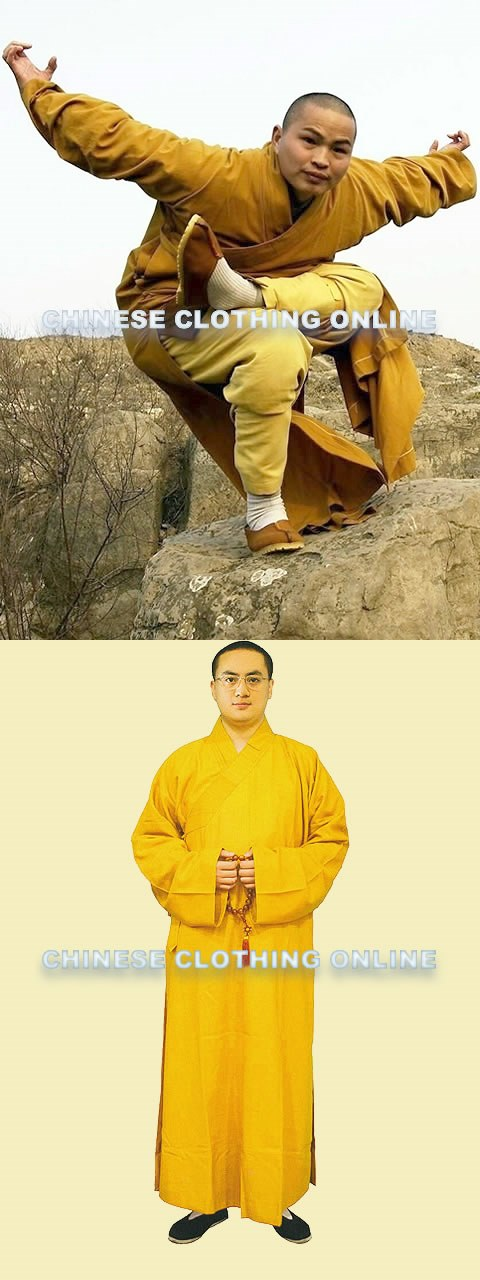 Shaolin Buddhist Long Robe - Changgua (CM)
