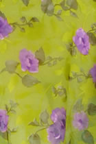 Fabric - Floral Silk
