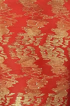 Fabric - Gold Threaded Silk Plaster