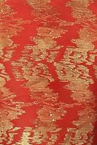 面料-金線人造絲綢