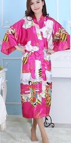 人絲睡袍(成衣)