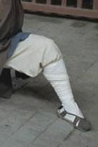 少林羅漢襪 (成衣)