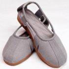 Bargain - Shaolin Luohan Cloth Sandals - Grey