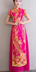 華麗越南旗袍 - 奧黛(成衣)