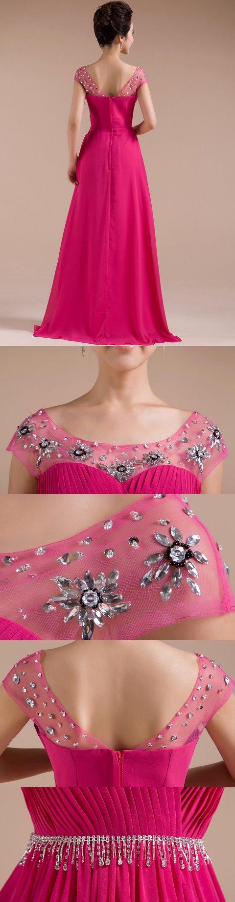 Sleeveless Long-length Prom Dress (RM)