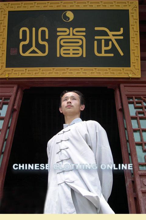 Bargain - Long-sleeve Taichi Linen Duangua
