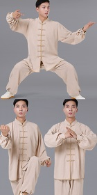 Professional Bamboo Linen Taichi Kungfu Uniform with Pants (RM)
