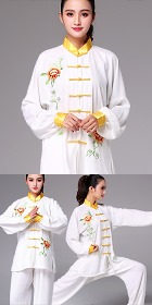 Professional Embroidery Taichi Kungfu Uniform with Pants (RM)