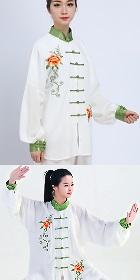 專業刺繡太極武術練功/表演服連褲