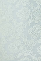 Fabric - See-through Embroidery Velvet Gauze (White)