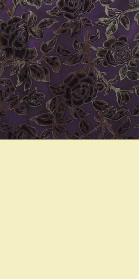 Fabric - See-through Embroidery Silk Velvet Gauze