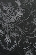 Fabric - See-through Embroidery Silk Velvet Gauze (Black)