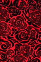 Fabric - Blossom Rose Silk Velvet