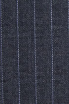 Fabric - Wool Blend with Thin Stripes (Multicolor)