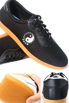 Professional Taichi/Wushu Canvas Sneakers (Black)