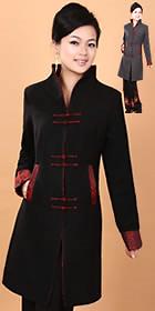 Mandarin Wool Coat (CM)