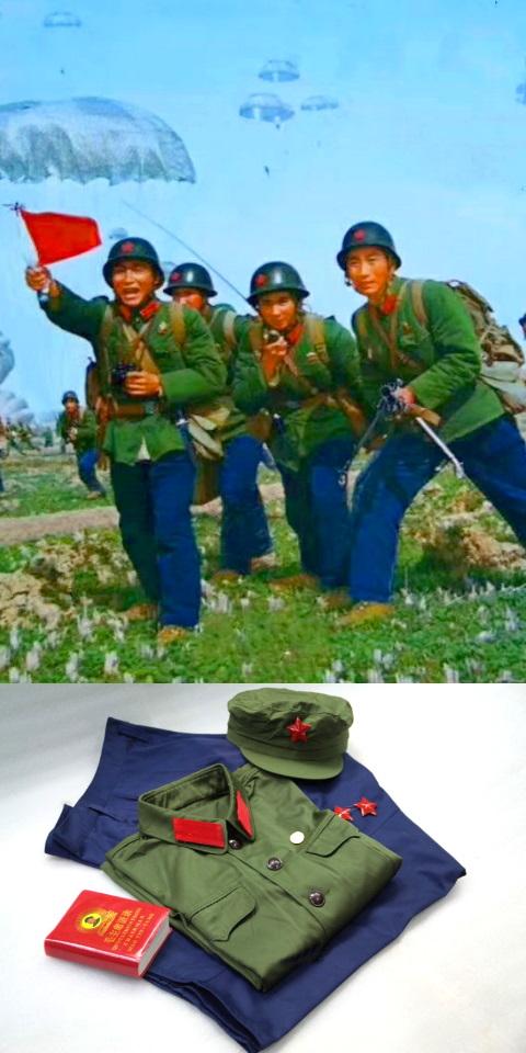 正品65式解放軍軍裝