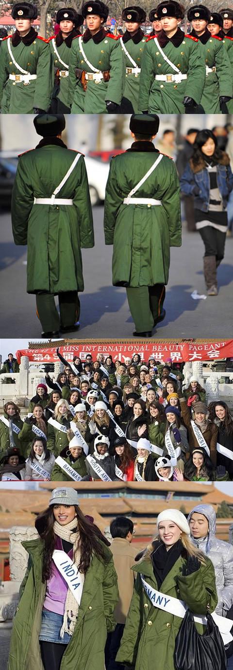 解放軍正品軍大衣