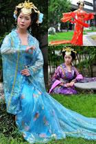 Tang Style Hanfu (Multicolor)