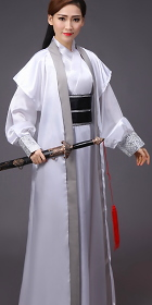 Chivalrous-woman Hanfu w/ Outer Robe (RM)