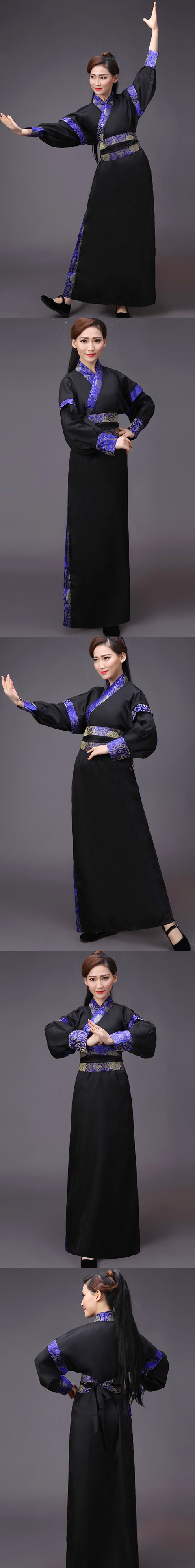 Chinese Traditional Dress - Chivalrous-woman Hanfu (RM)