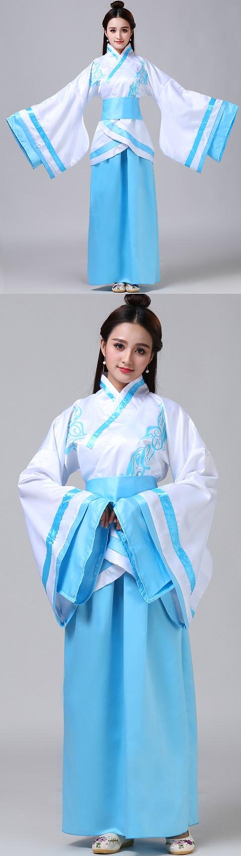 Chinese Traditional Dress - Folkwear Hanfu (RM)