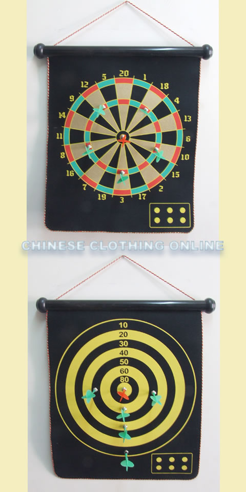 磁性標靶連六支飛鏢