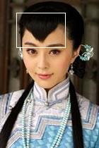 古裝假髮 - 尖尾劉海