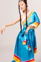 Chinese Ethnic Dancing Costume - Zang Zu (Tibetan)