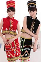 中國民族舞蹈服-傣族|黎族|佤族|景頗族
