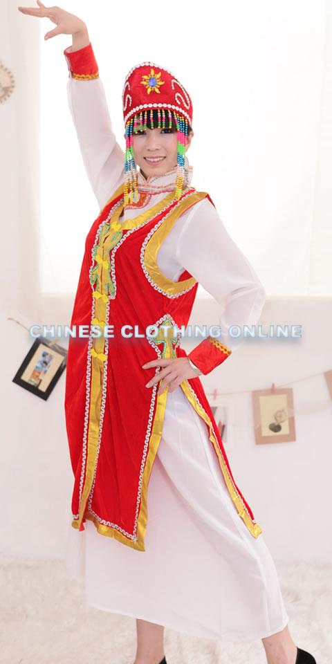 中國民族舞蹈服-蒙古族