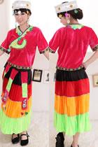 Chinese Ethnic Dancing Costume - Taijiang Miao Zu