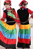 Chinese Ethnic Dancing Costume - Yunan Yi Zu