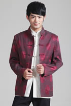 Mandarin Brocade Fabric Jacket (RM)