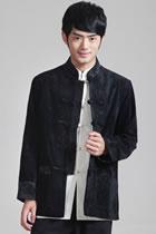 Mandarin Chenille Fabric Jacket (RM)