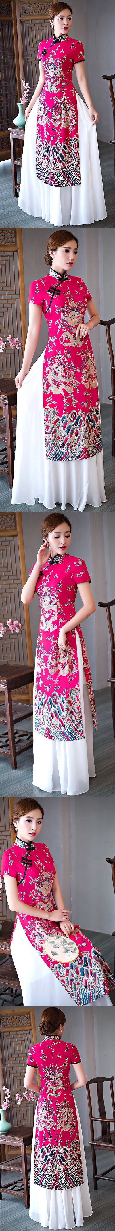 Magnificent Vietnamese National Outfit - Aodai (CM)