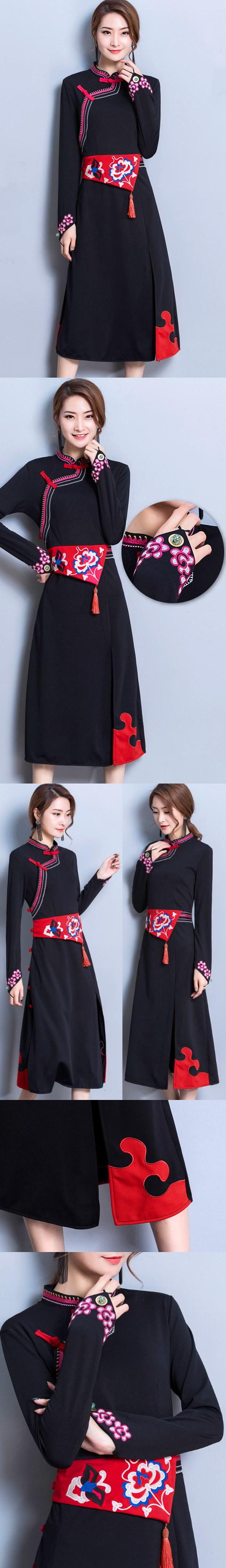 Modernized Style Mongolian Robe (RM)