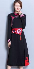 改良式蒙古袍 (成衣)