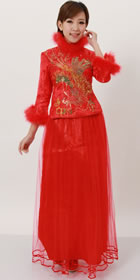 3/4-sleeve Long-length Qungua (RM)