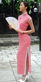 Cup-sleeve Long-length Cheongsam (CM)