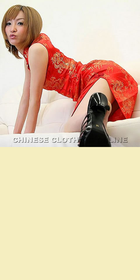 Sleeveless Clover Opening Long-length Cheongsam (CM)