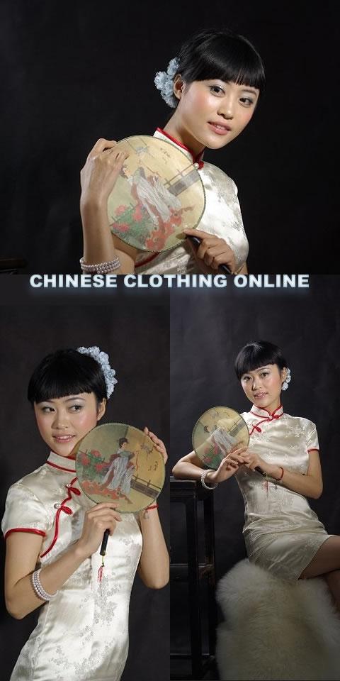 Short-sleeve Short-length Cheongsam (CM)