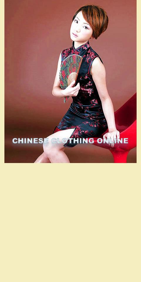 Sleeveless Short-length Cheongsam (CM)