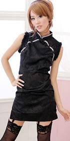 Sleeveless Short Cheongsam (CM)