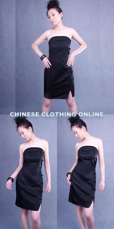 Strapless Short-length Cheongsam (CM)